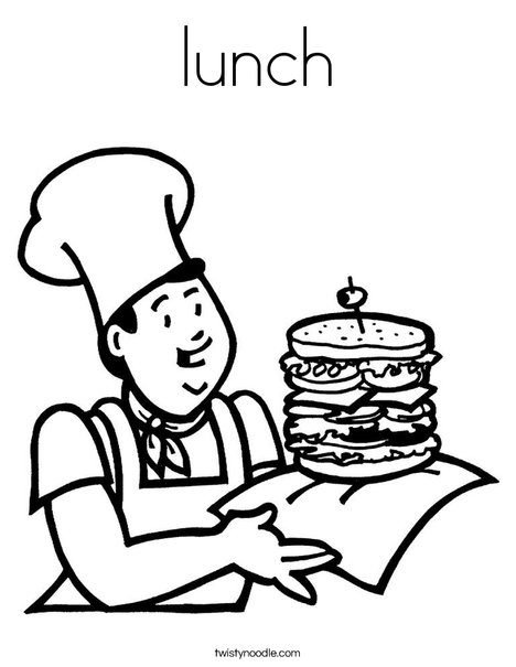 lunch food coloring pages kawaii food coloring pages lunch food coloring pages coloring food lunch pages
