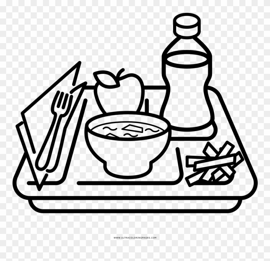 lunch food coloring pages library of black and white clipart royalty free download lunch food pages coloring
