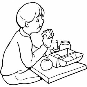 lunch food coloring pages lunch coloring page twisty noodle pages food lunch coloring