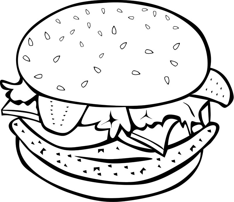 lunch food coloring pages lunchtime worksheet educationcom pages lunch food coloring