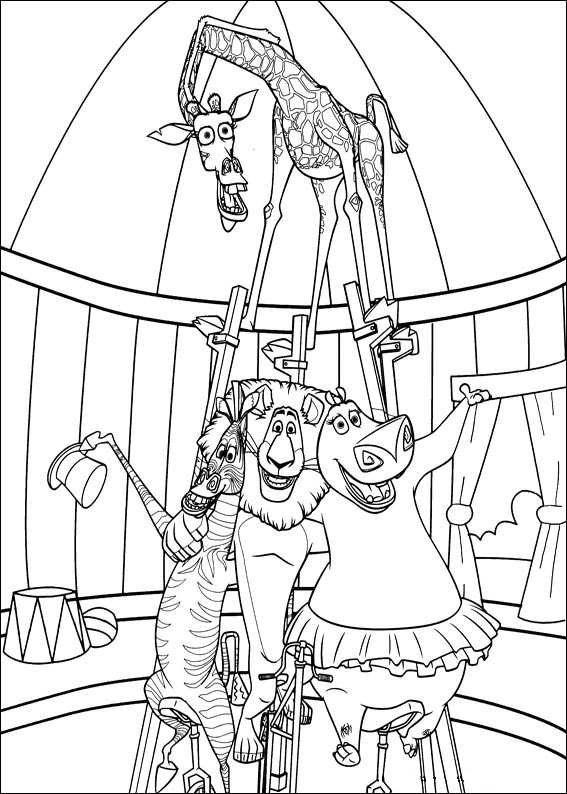 madagascar 3 coloring pages kids n funcom 24 coloring pages of madagascar 3 3 pages madagascar coloring