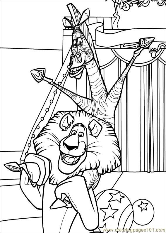 madagascar 3 coloring pages kids n funcom 24 coloring pages of madagascar 3 coloring 3 pages madagascar