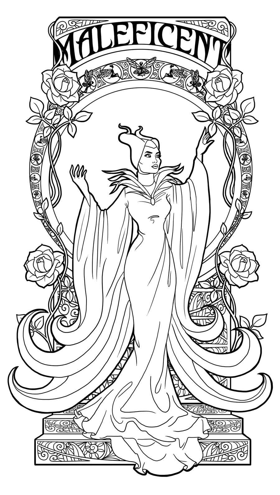 maleficent coloring pages maleficent dragon coloring pages at getdrawings free maleficent coloring pages