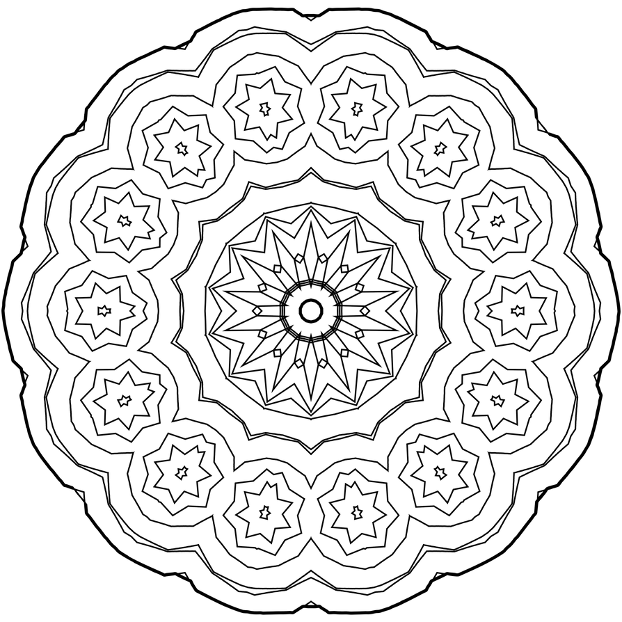 mandala coloring template how to draw a mandala with free coloring pages coloring template mandala