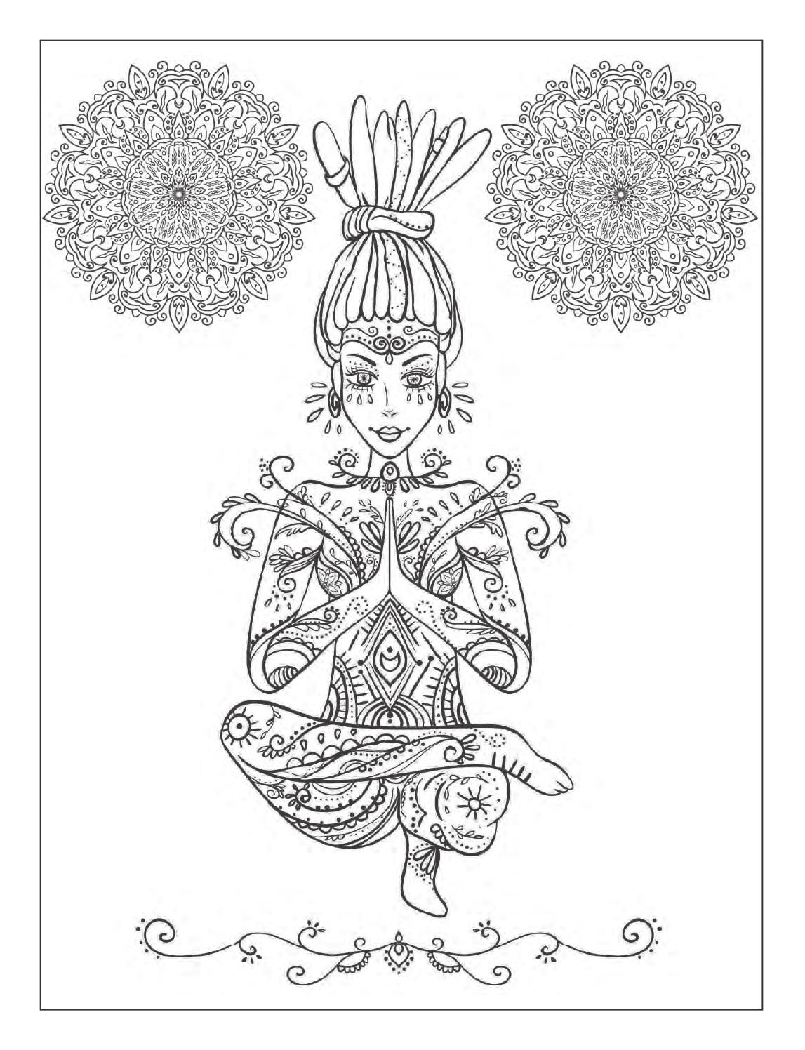 mandala meditation coloring pages pin on adult coloring pages mandala pages coloring meditation