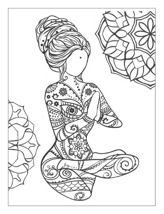 mandala meditation coloring pages yoga and meditation coloring book for adults with yoga mandala pages coloring meditation