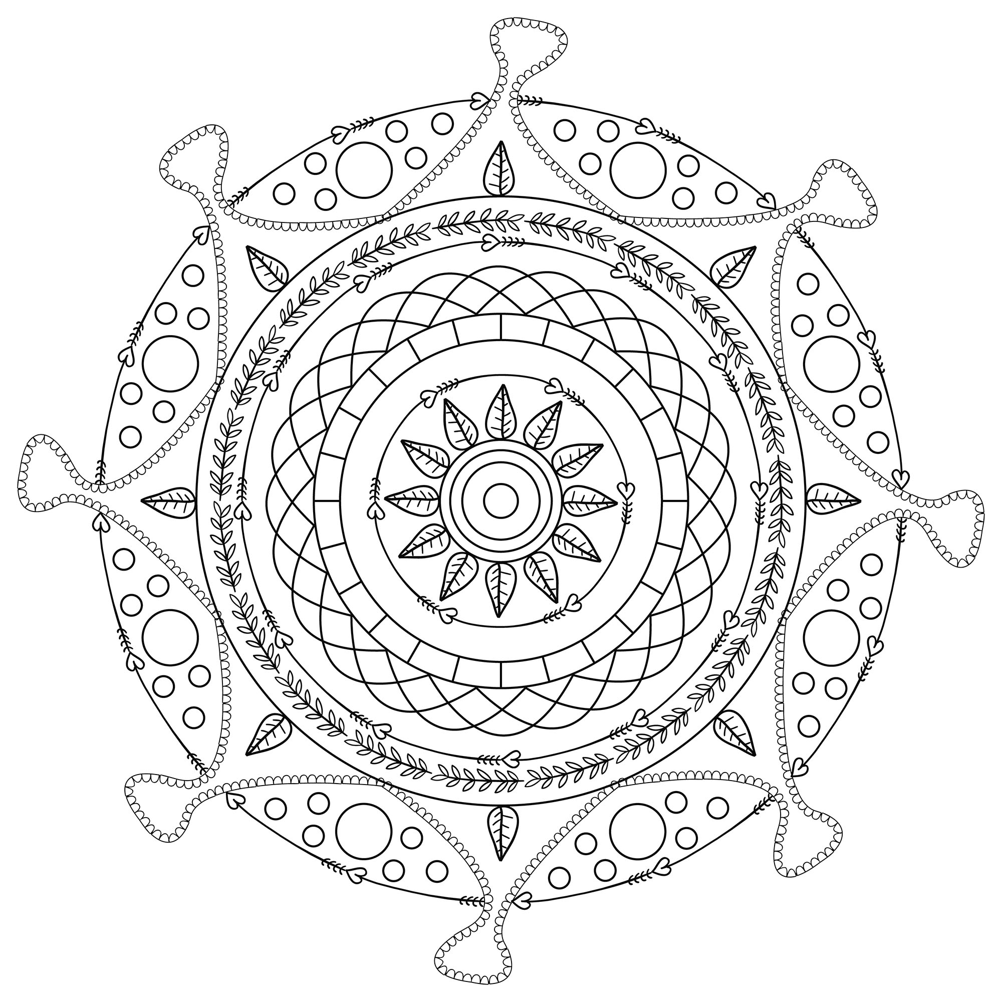 mandalas to color free best free easy flower mandala designs coloring pages to color free mandalas
