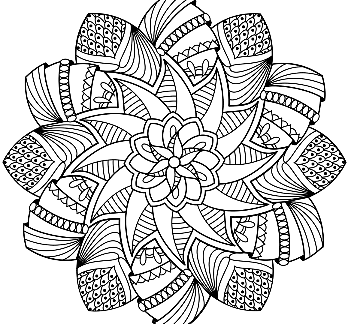 mandalas to color free flower mandala coloring pages printable at getdrawings to free color mandalas