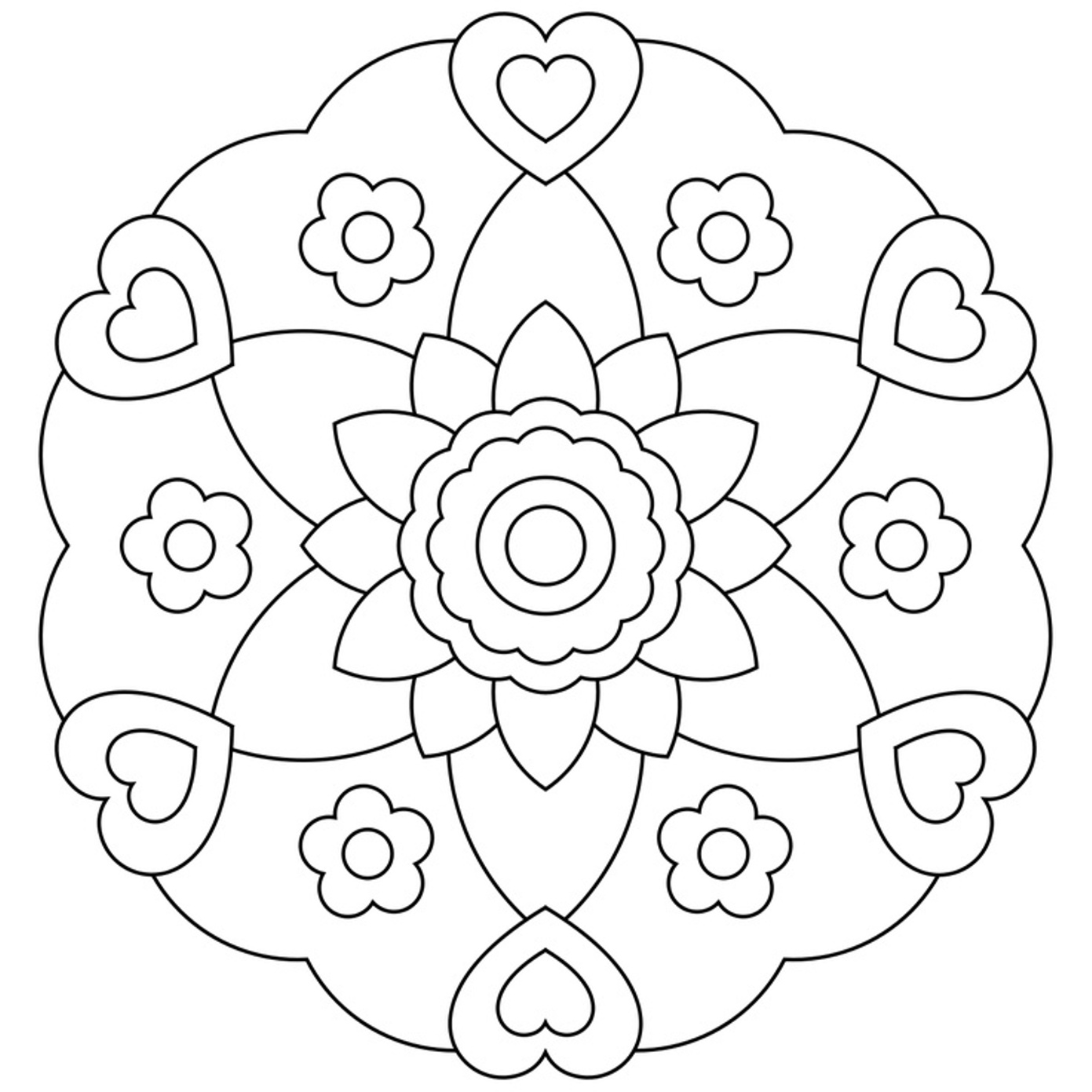 mandalas to color free free printable mandalas for kids best coloring pages for color mandalas to free