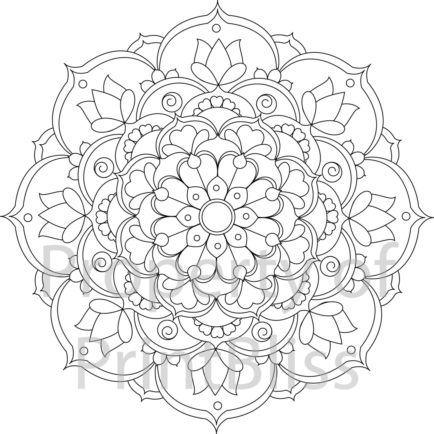 mandalas to color free mandala 132 by sadadoki on deviantart to color mandalas free