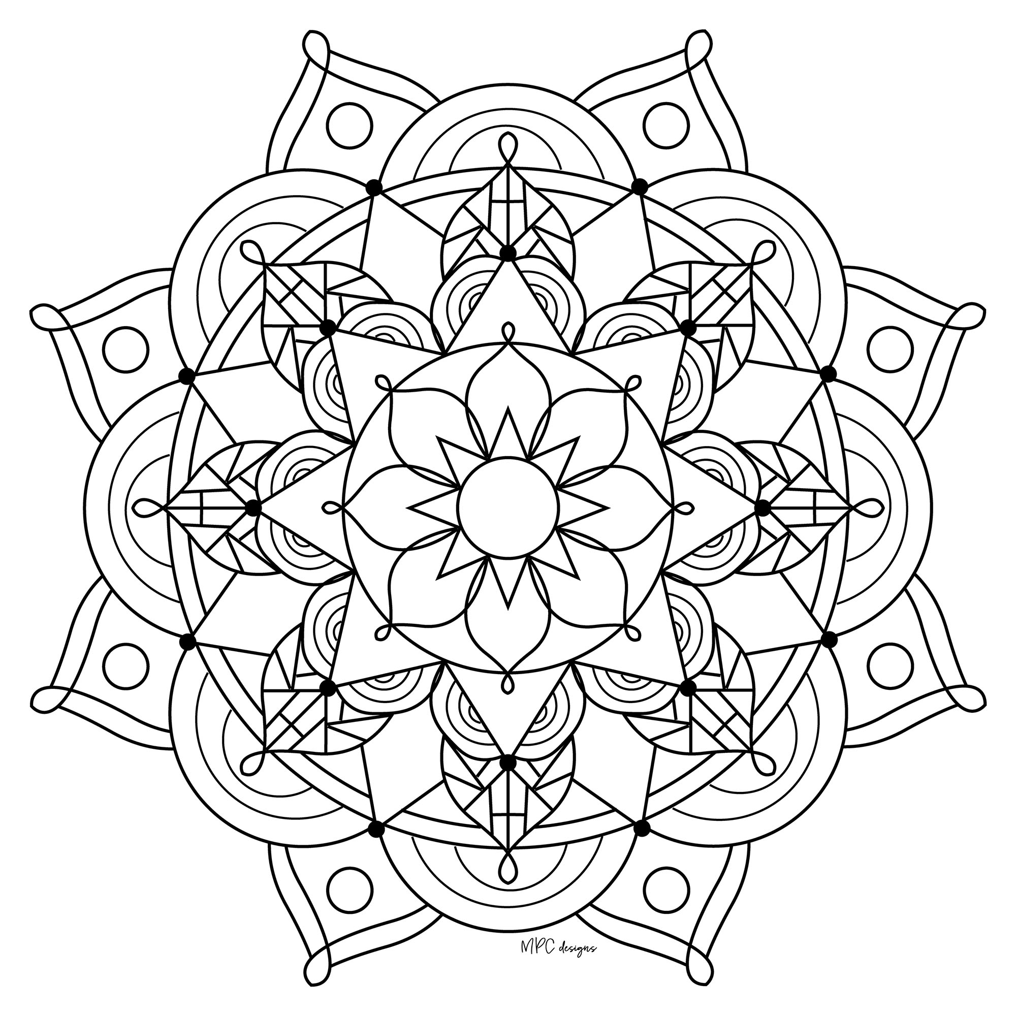 mandalas to color free printable mandala coloring pages for kids cool2bkids to free color mandalas