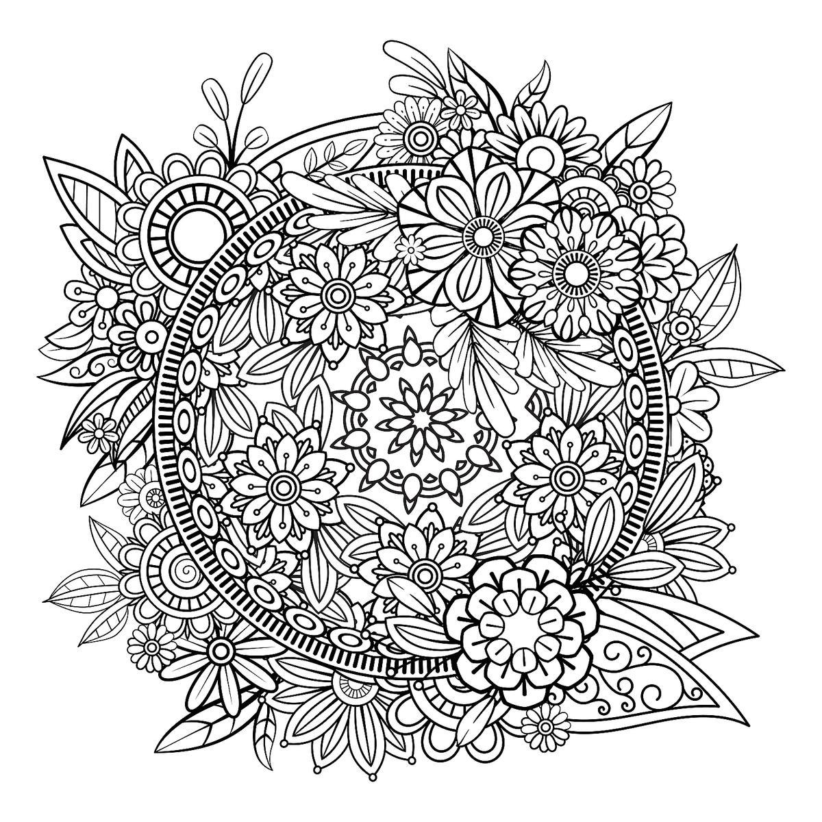 mandalas to color free simple mandala coloring pages download and print for free free mandalas color to