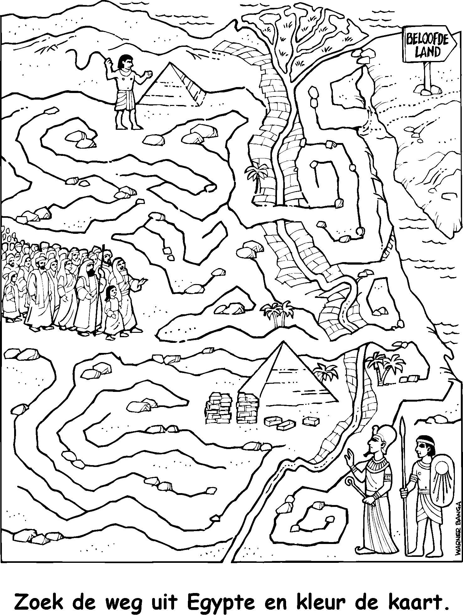 map of egypt coloring page quotfind the way out of egypt and color the mapquot sign points map of coloring egypt page