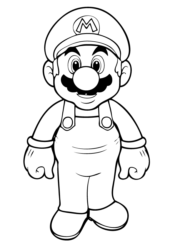 mario bros printable coloring pages mario bros coloring pages to download and print for free printable mario pages coloring bros