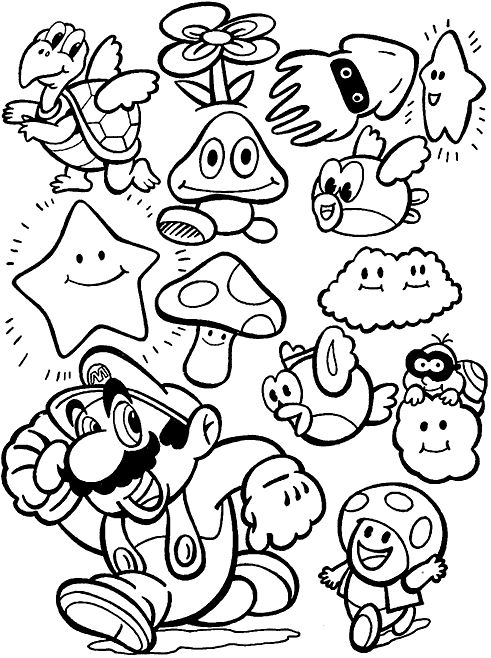 mario party 9 coloring pages all mario characters coloring pages free printable mario mario 9 pages party coloring