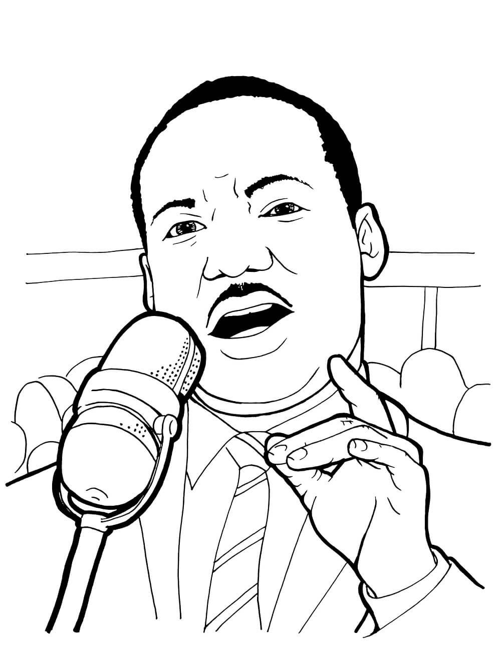 martin luther coloring page free printable martin luther king jr day mlk day martin page luther coloring