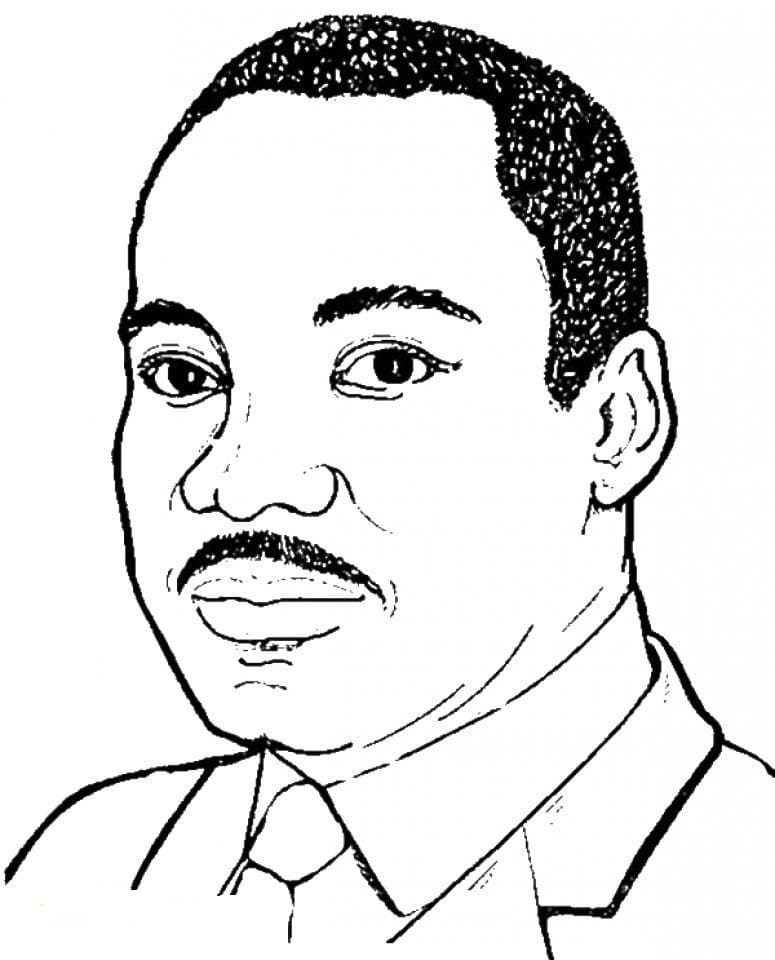 martin luther coloring page martin luther king jr day coloring pages print for free luther coloring martin page