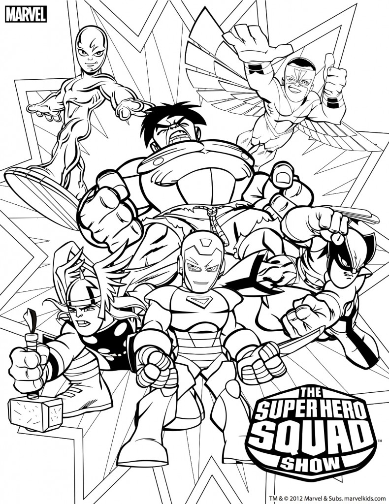 marvel coloring the best free marvel coloring page images download from coloring marvel