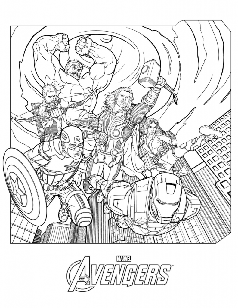 marvel kids coloring pages get this avengers coloring pages marvel superheroes pages kids coloring marvel