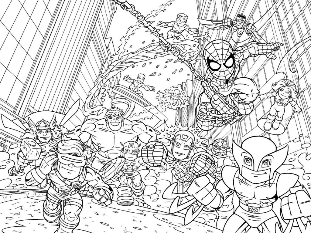 marvel kids coloring pages marvel coloring pages for kids printable free coloring kids marvel coloring pages