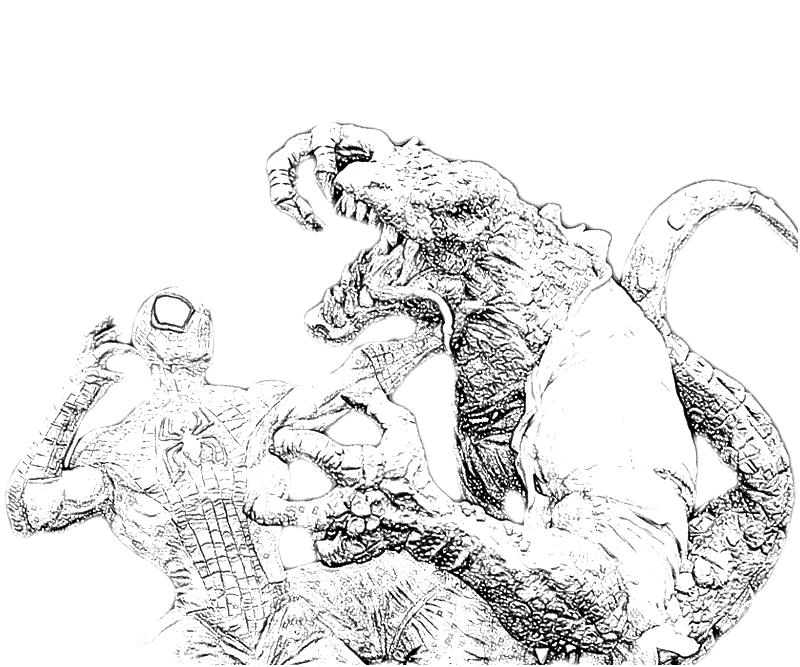 marvel lizard coloring pages the amazing spider man lizard character yumiko fujiwara marvel pages coloring lizard