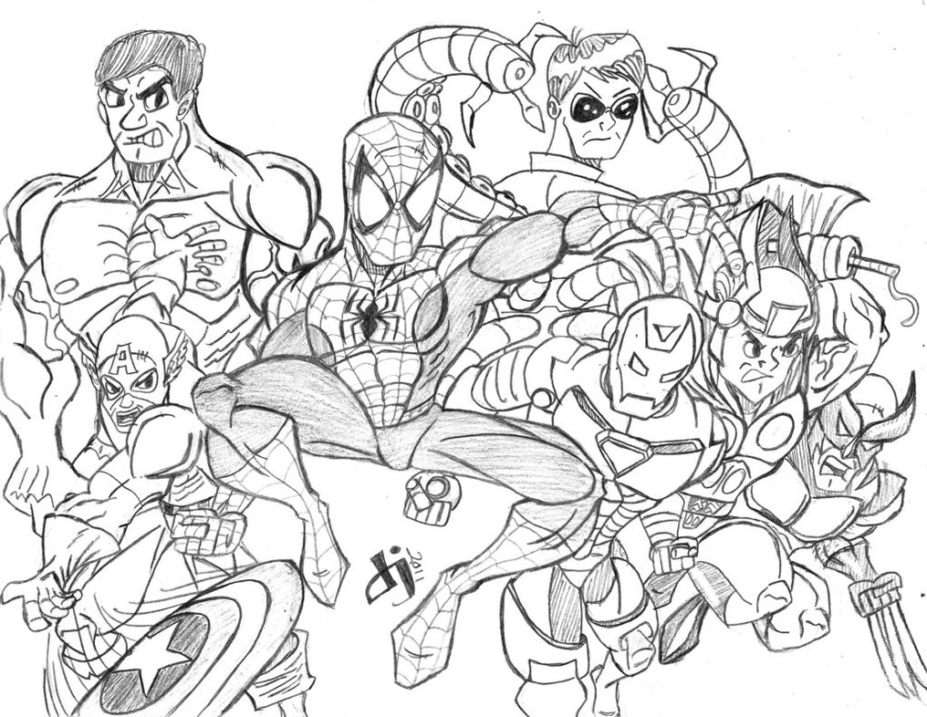 marvel pictures to print avenger endgame free coloring pages marvel pictures print to