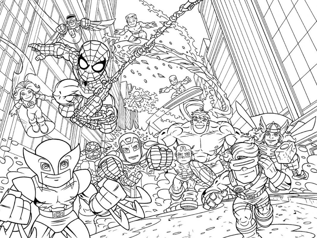 marvel pictures to print printable marvel spiderman coloring pages print pictures marvel to