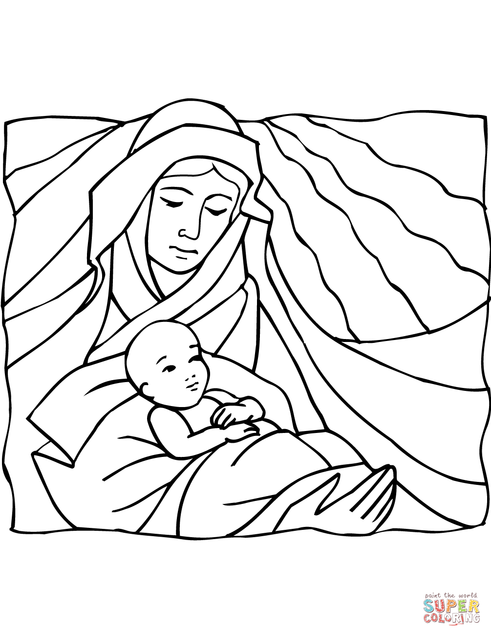 mary joseph and baby jesus coloring page baby jesus jesus coloring and mary page joseph baby