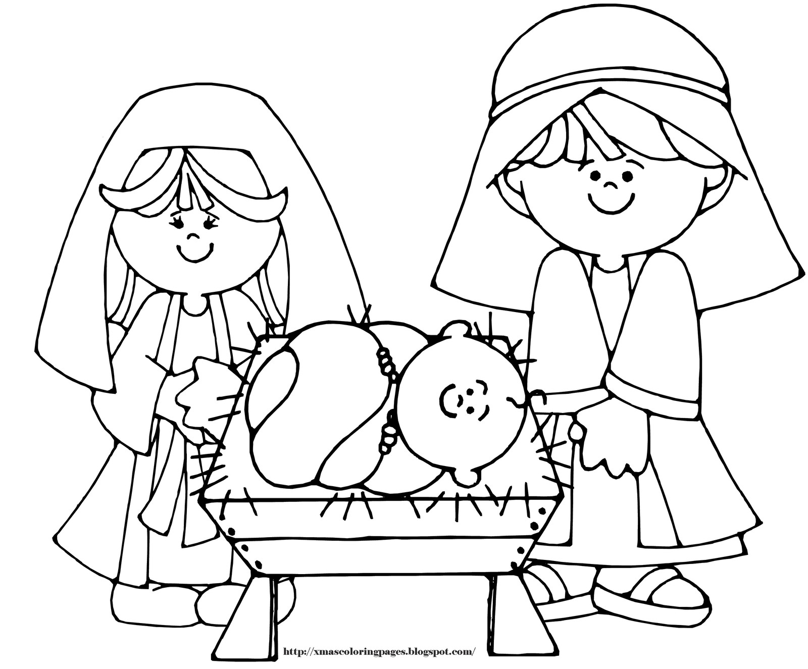 mary joseph and baby jesus coloring page christmas coloring pages nativity precious moments color joseph and coloring jesus page mary baby