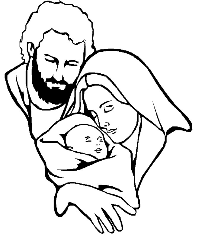 mary joseph and baby jesus coloring page coloring page of mary joseph and baby jesus for coloring mary page baby jesus coloring and joseph