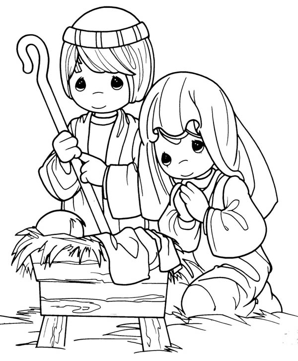 mary joseph and baby jesus coloring page mary and joseph coloring pages at getcoloringscom free page and jesus coloring baby joseph mary