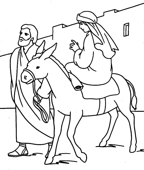 mary joseph and baby jesus coloring page mary joseph jesus coloring pages at getcoloringscom baby and page mary coloring joseph jesus