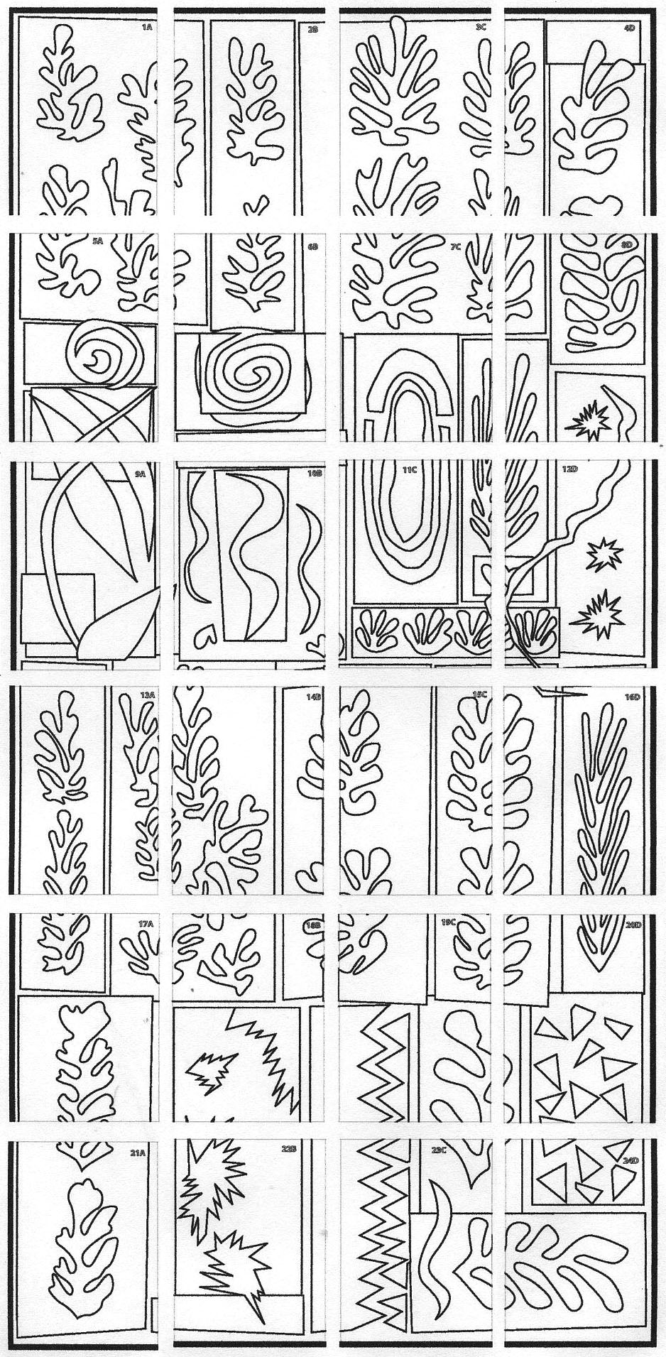 matisse coloring pages gold fish coloring page youngandtaecom in 2020 pages coloring matisse