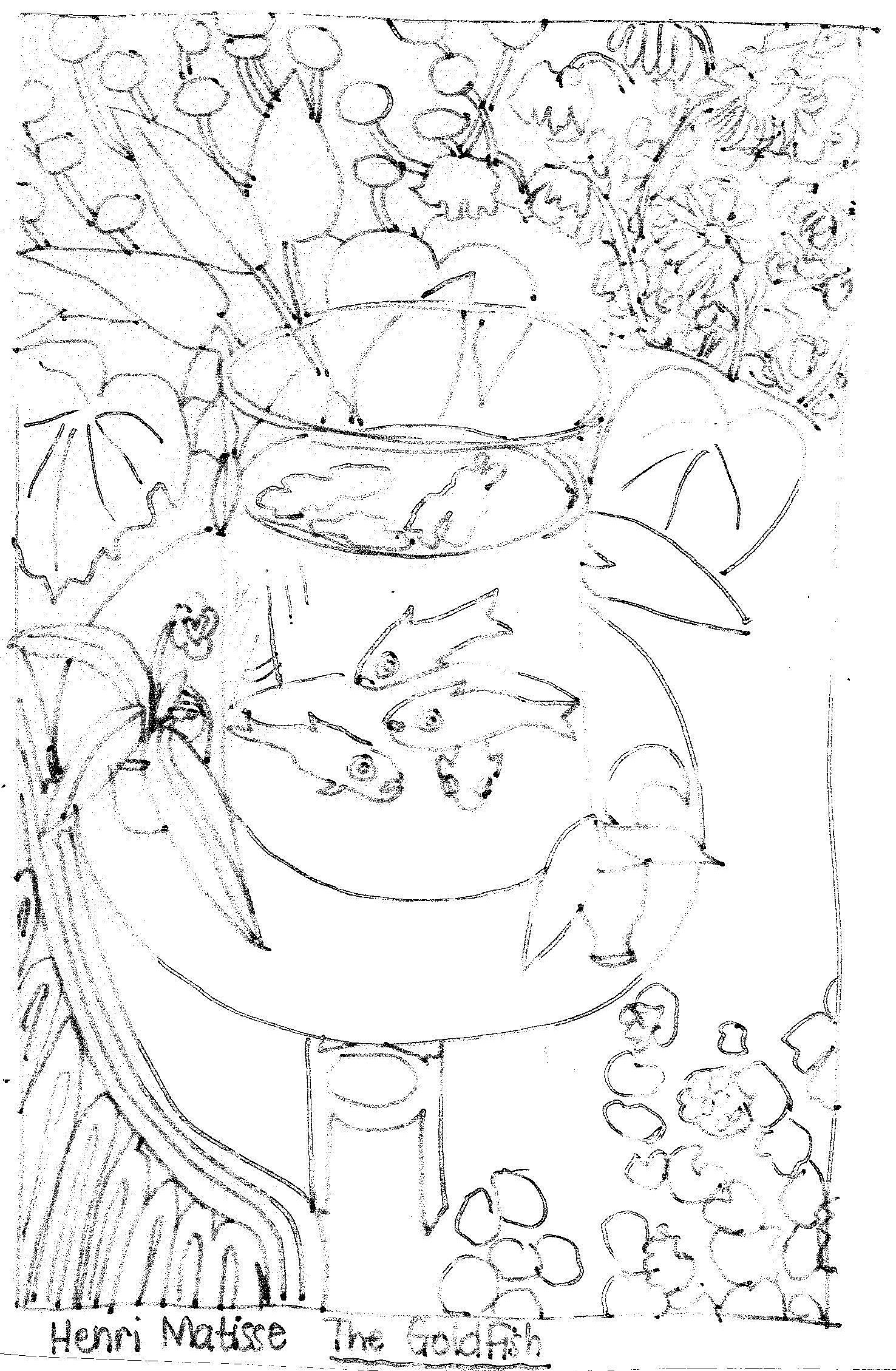 matisse coloring pages henri matisse famous artist informational text coloring matisse coloring pages