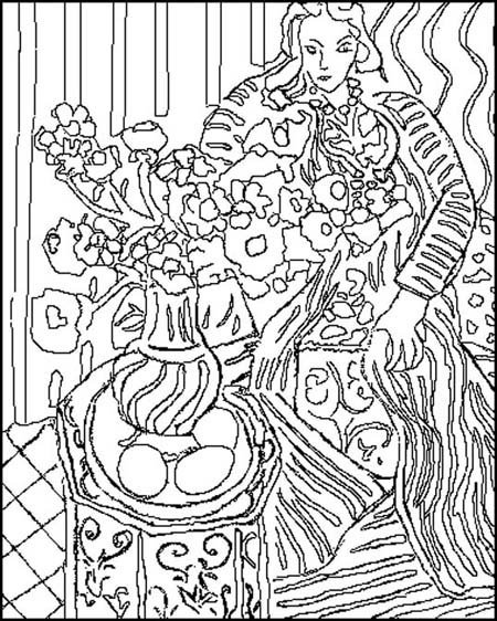 matisse coloring pages matisse cutouts for kids acfm matisse art matisse art matisse pages coloring