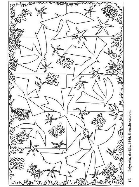 matisse coloring pages matisses goldfish practical pages pages coloring matisse