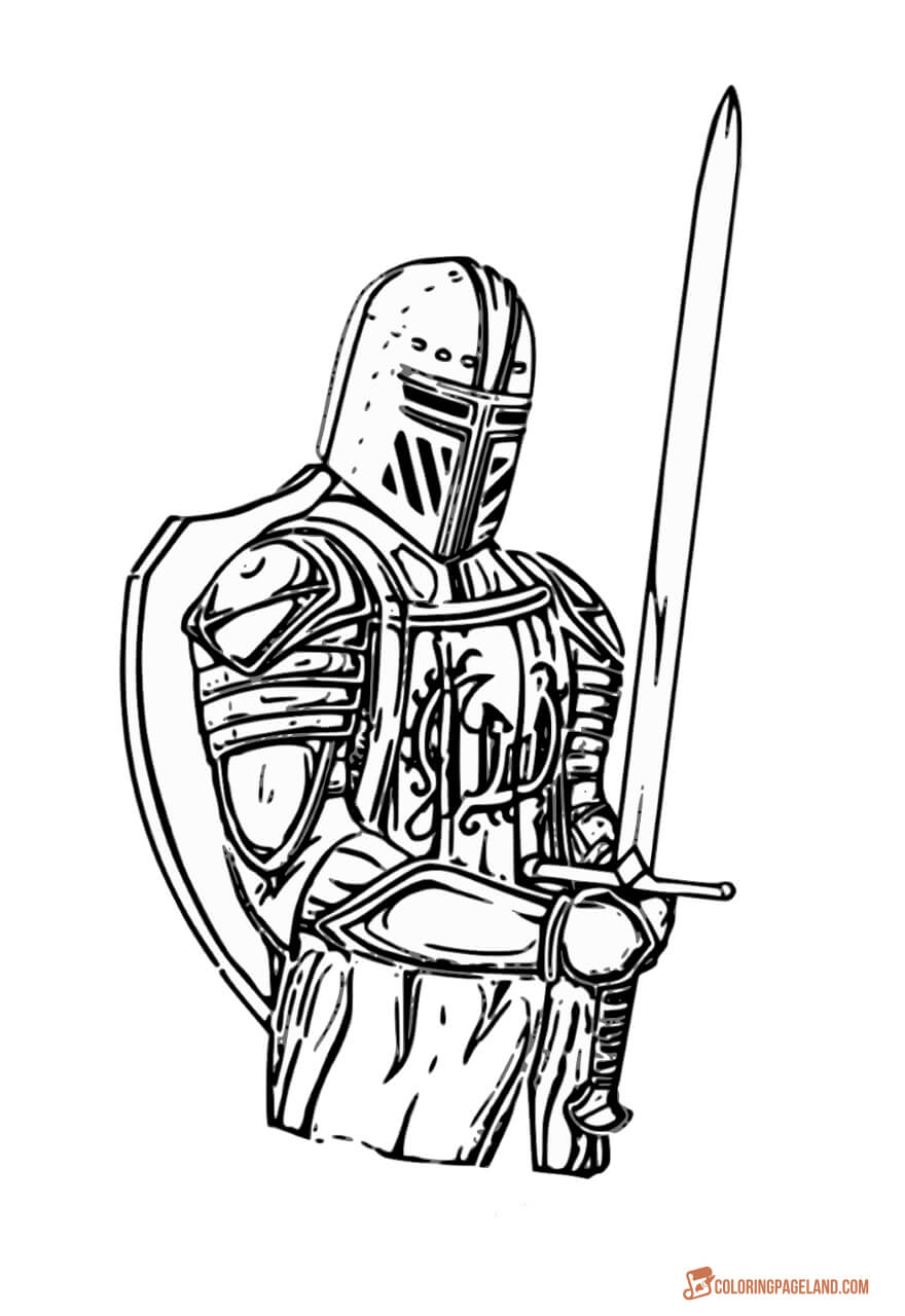 medieval knight coloring pages coloring page knight in light armor coloring knight pages medieval