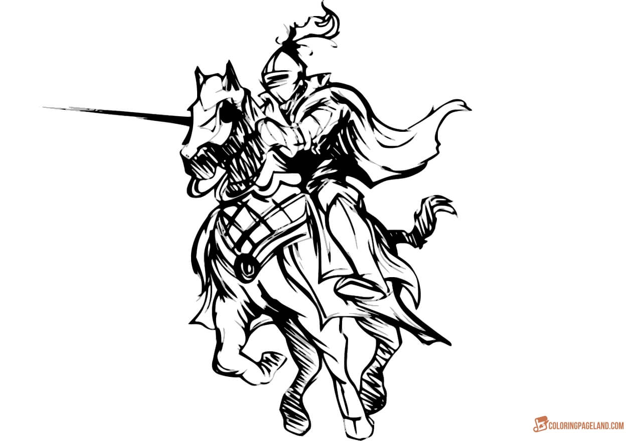 medieval knight coloring pages medieval coloring pages to download and print for free medieval knight coloring pages