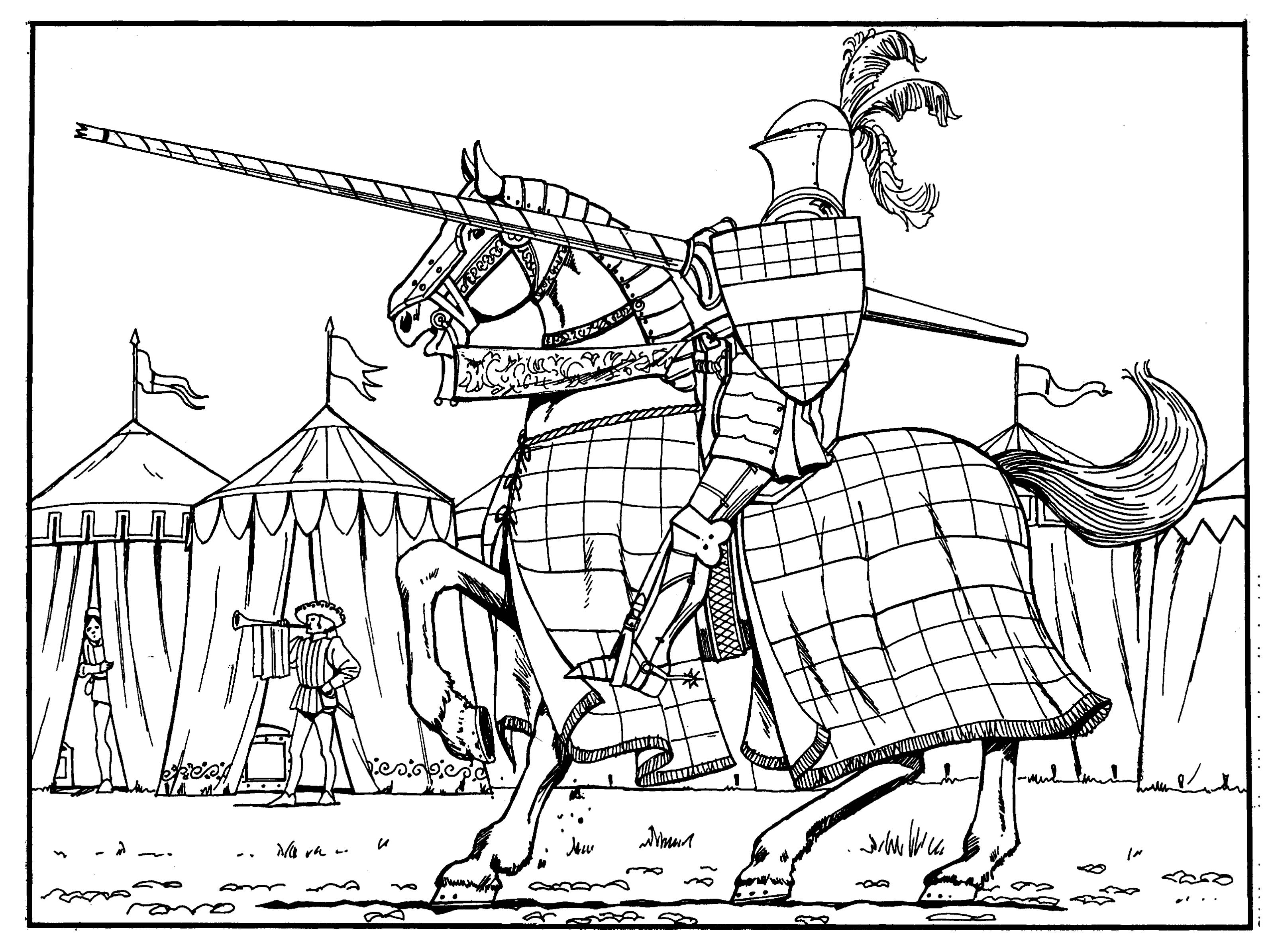 medieval knight coloring pages medieval coloring pages to download and print for free medieval knight pages coloring
