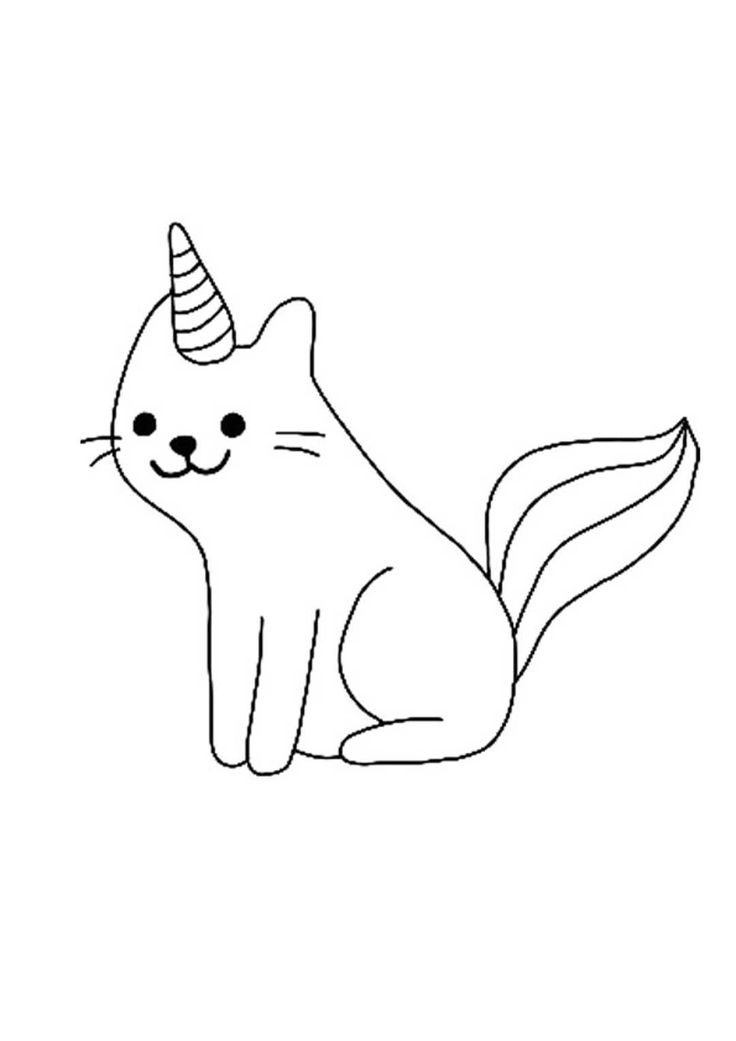 mermaid kitten coloring pages unicorn cat coloring pages in 2020 unicorn coloring coloring mermaid kitten pages