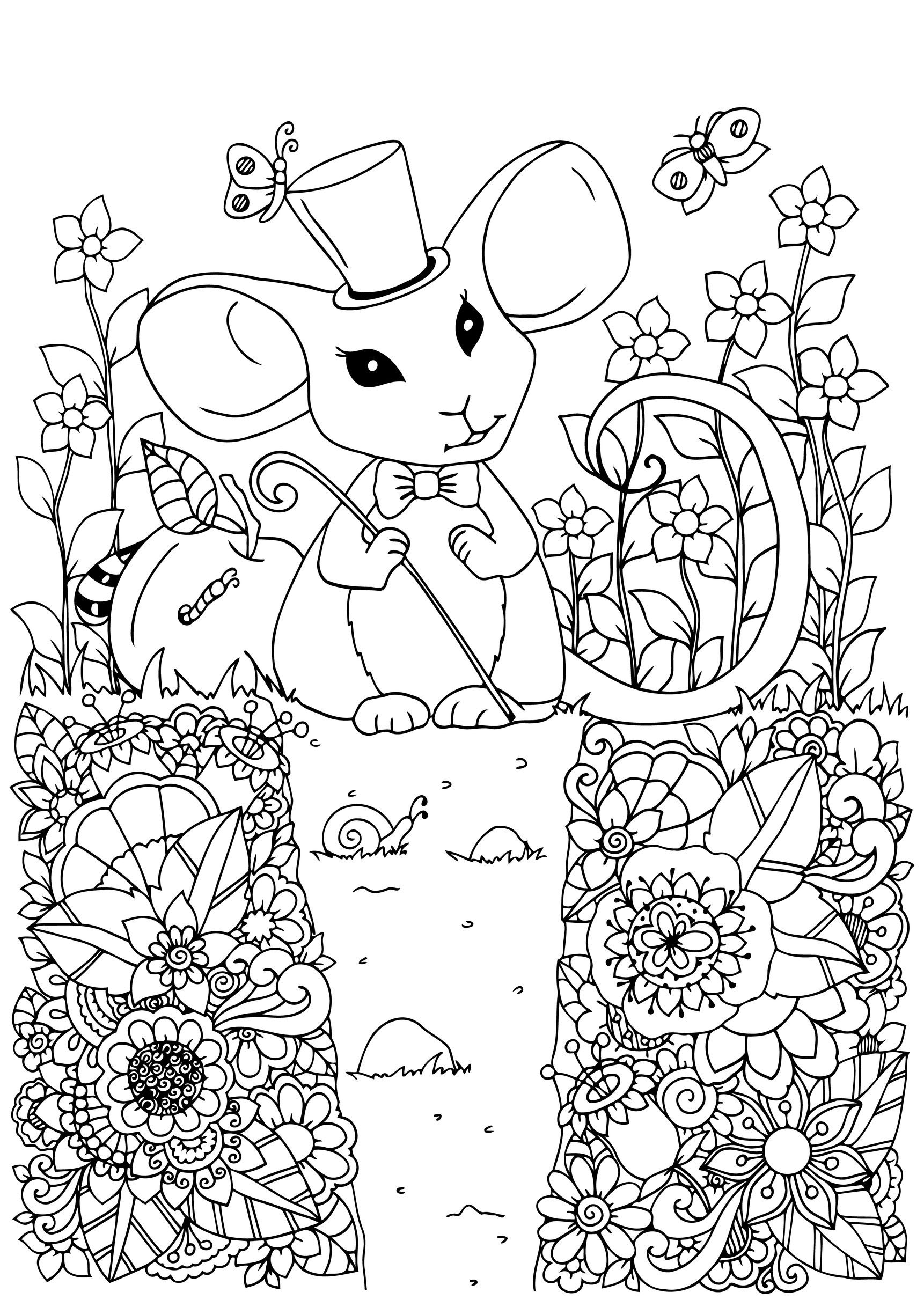 mice coloring pages mouse coloring pages to download and print for free coloring mice pages