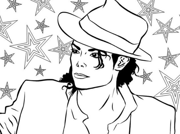 michael jackson colouring pages michael jackson and his little girl coloring page free pages jackson michael colouring
