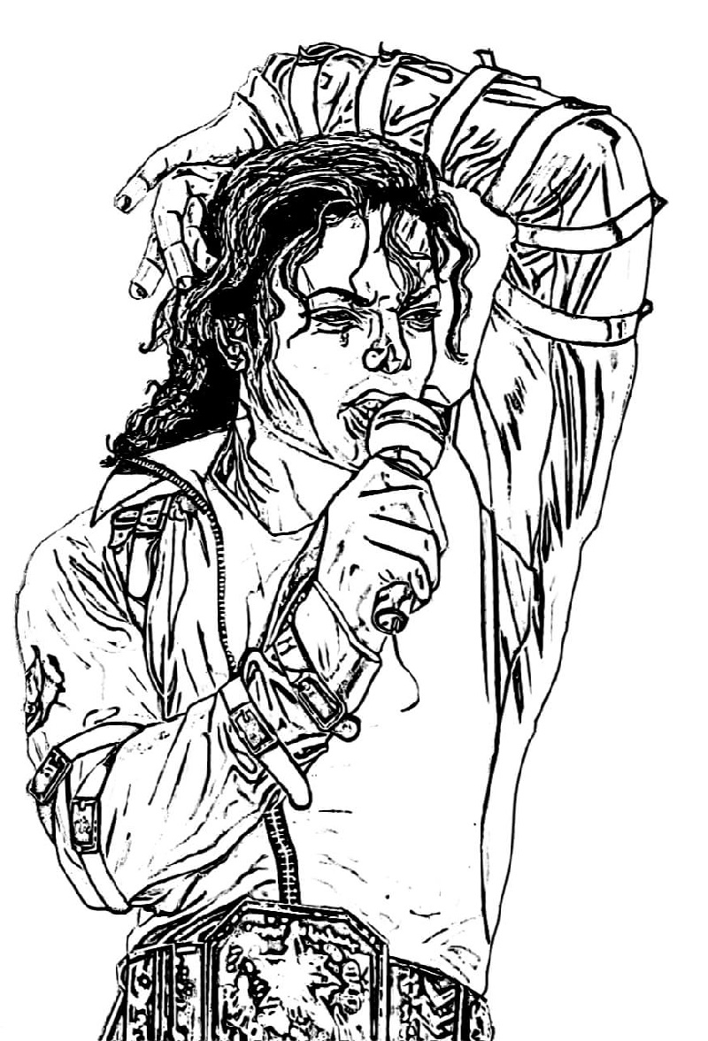 michael jackson colouring pages michael jackson coloring pages free 101 coloring jackson michael pages colouring