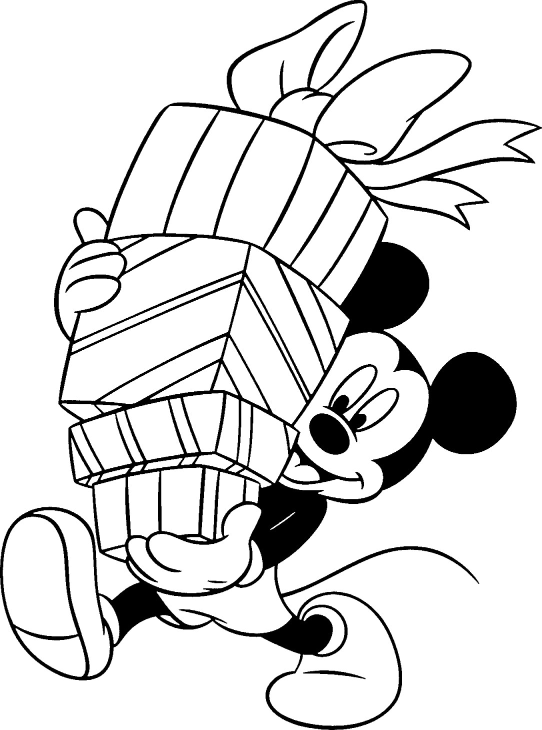 mickey christmas coloring pages 22 best images about mickey mouse on pinterest disney christmas mickey coloring pages