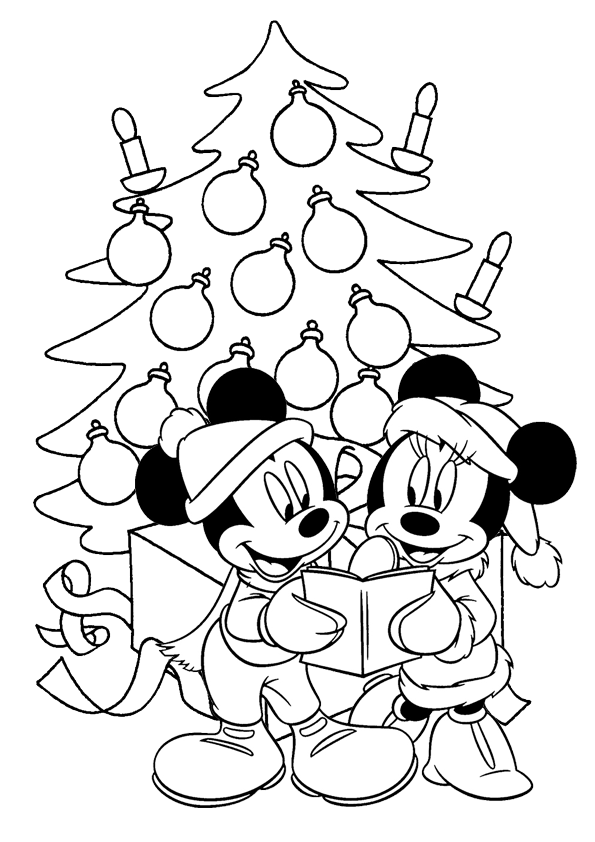 mickey christmas coloring pages mickey mouse christmas coloring pages 001 coloring sheets christmas coloring mickey pages