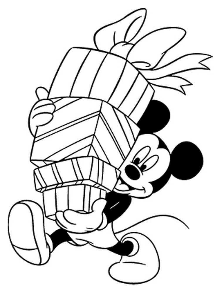 mickey christmas coloring pages mickey mouse christmas coloring pages to download and coloring pages mickey christmas