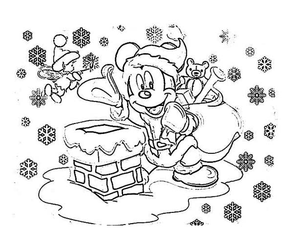 mickey mouse coloring pages christmas mickey mouse christmas coloring pages at getcoloringscom mouse christmas pages mickey coloring