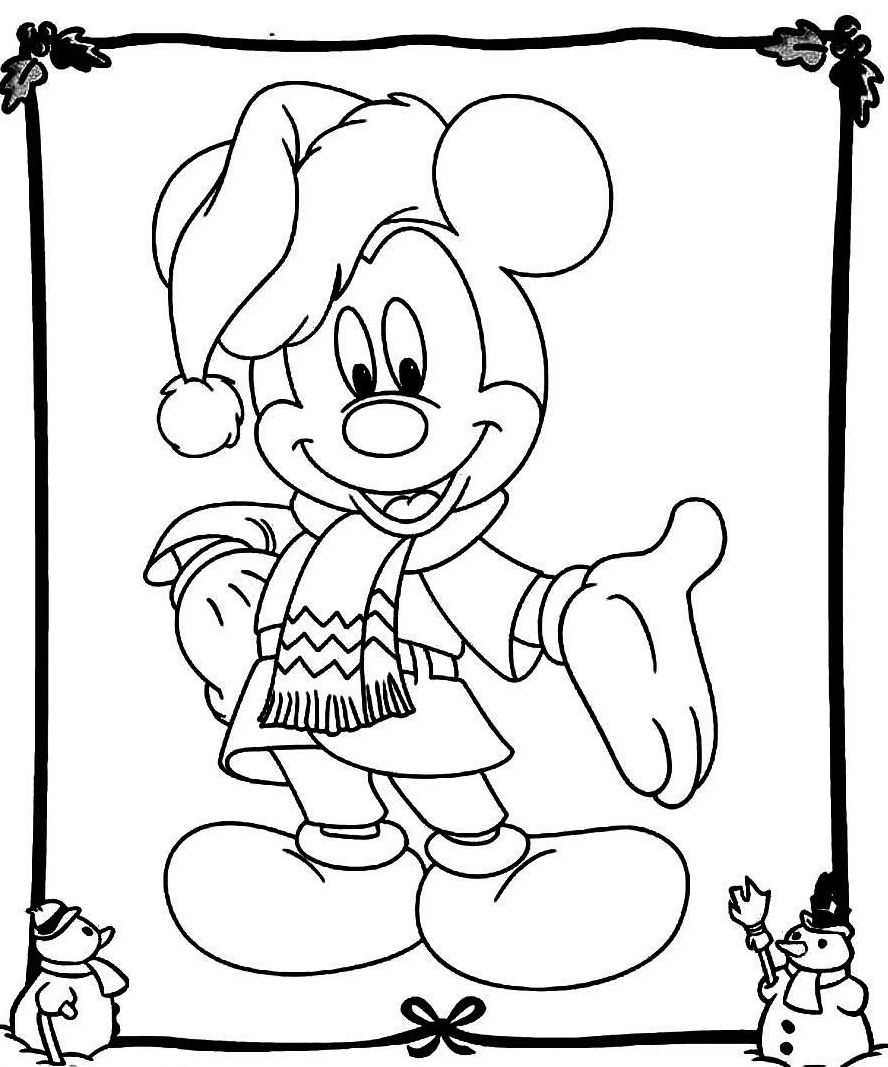 mickey mouse coloring pages christmas mickey mouse christmas coloring pages to download and mickey christmas coloring pages mouse