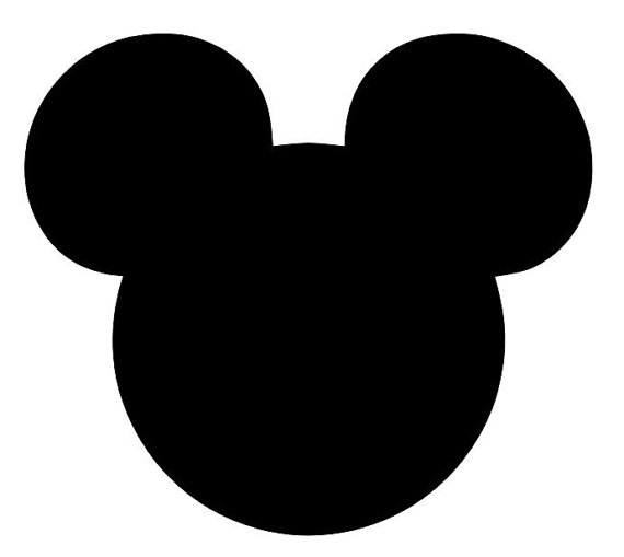 mickey mouse for painting mickey mouse ears silhouette clipart free download on mouse for painting mickey