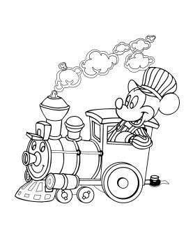 mickey mouse train coloring page mickey mouse train coloring page coloring home mouse page mickey train coloring